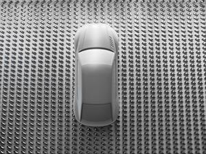 Audi crea una escultura basada en el Sport quattro concept