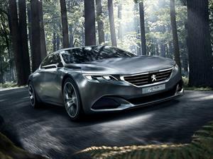 Peugeot Exalt Concept Coupé debuta