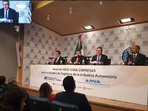 INEGI dará a conocer las cifras de la industria automotriz en México
