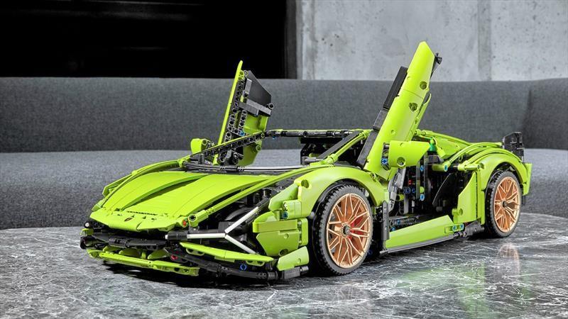 Lego recrea el Lamborghini Sián FKP 37