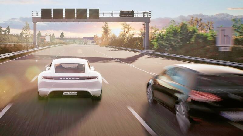Porsche usa software de videojuegos para desarrollar autos inteligentes