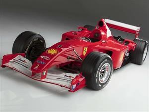 Subastan la Ferrari F1-2001 de Michael Schumacher