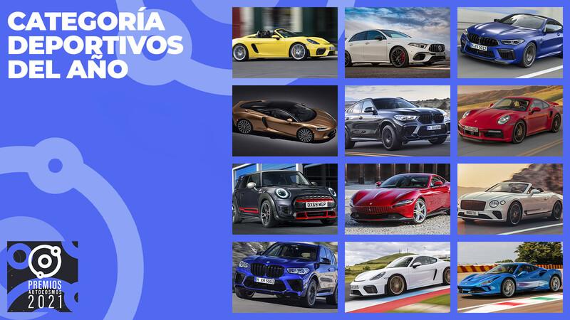 Premios Autocosmos: los candidatos al deportivo de 2021