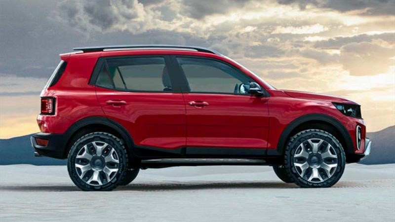 La próxima Ford Ecosport tendría un diseño aún más off-road