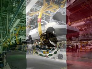 México pisa fuerte, qué autos produce y donde.