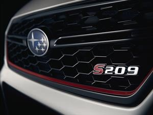 Subaru WRX STi S209 saldrá de Japón para debutar en Detroit