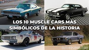 Elegimos los 10 mejores muscle car de la historia