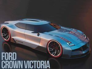 Ford Crown Victoria, un bosquejo de cómo sería hoy