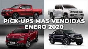 Top 10: Las pick-ups más vendidas de Argentina en enero de 2020
