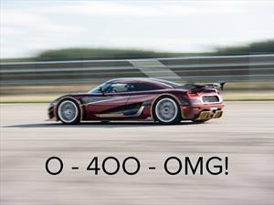 Koenigsegg Agera RS supera a Bugatti en el 0-400-0 km/h