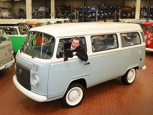 La última Volkswagen Combi se traslada a Alemania