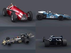 Impresionante video de la evolución de la F1
