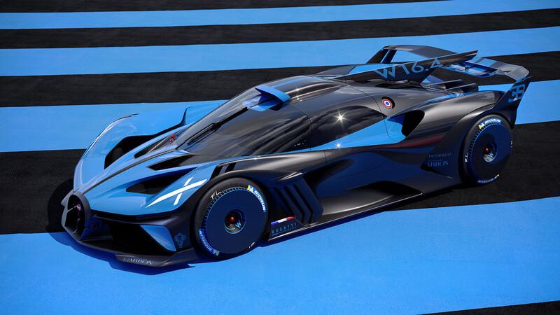 Bugatti Bolide es un exclusivo hypercar de carreras con más de 1,800 hp