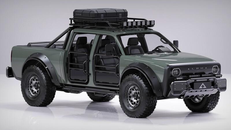 Alpha SuperWolf, la nueva pickup doble cabina eléctrica