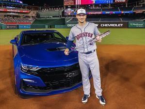 Jugador más valioso de la MLB estrena un Chevrolet Camaro SS 2019