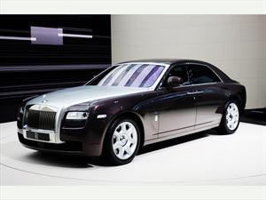 Rolls-Royce Ghost debuta en Chile