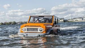 Amphicruiser es un SUV todoterreno con capacidades anfibias