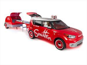 Kia Soul EV Smitten Ice Cream, la máquina de helados de Kia