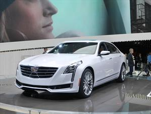 Cadillac CT6 2016, imponente sedán que se presenta en Nueva York