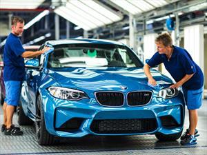 Inicia la producción del BMW M2 Coupé 2016