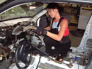 Verena Mei, modelo de la velocidad