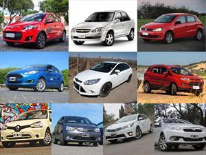Top 10 los autos más vendidos en mayo de 2014
