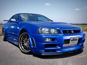 Se vende Nissan Skyline GT-R R34 que usó Paul Walker