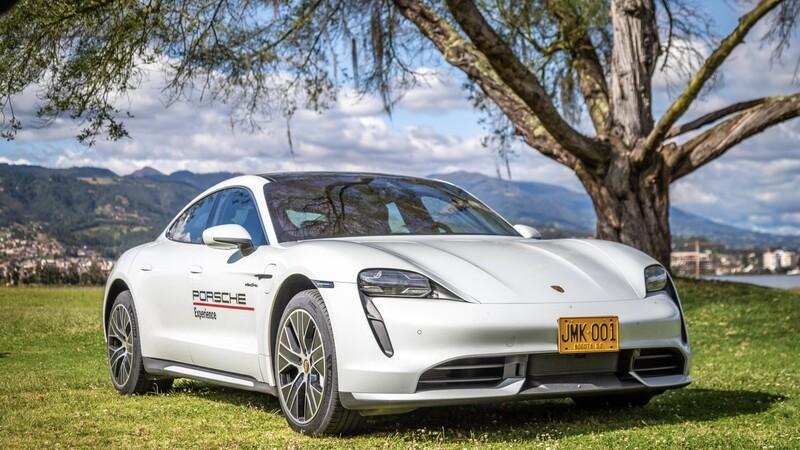 Porsche Taycan, derrochando energía en Colombia