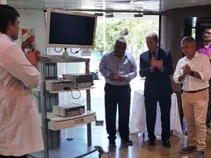 Toyota donó equipamiento al Hospital de San Pedro