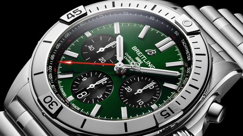 Bentley trae de regreso al icónico reloj Breitling Chronomat