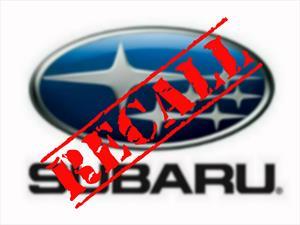 Subaru hace recall para el WRX y Forester
