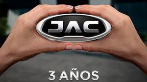 JAC cumple tres años de presencia en México