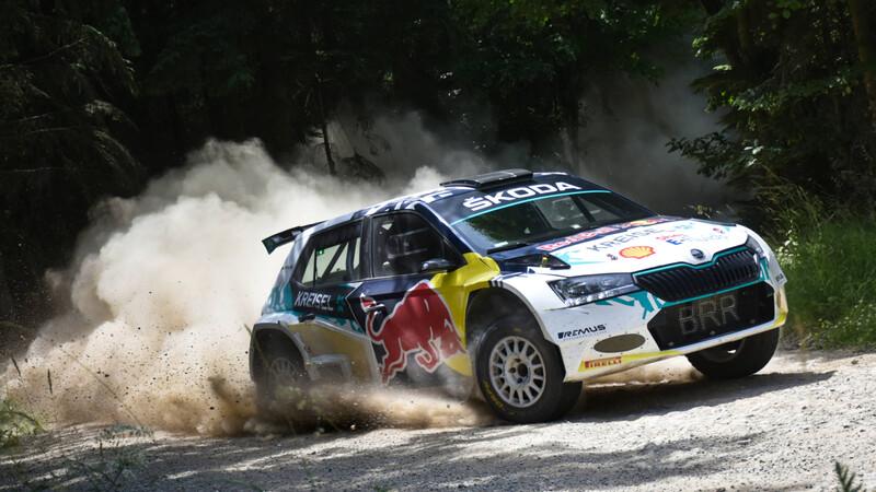 Así es el nuevo Skoda Fabia de rally eléctrico