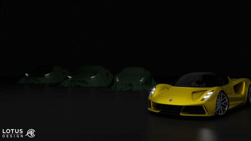 Lotus lanzará tres nuevos deportivos