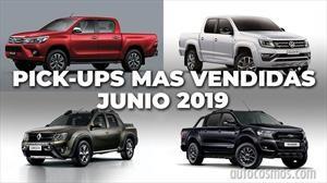 Top 10: Las pick-ups más vendidas de Argentina en junio de 2019