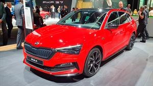 Skoda Scala Monte Carlo 2020 estética deportiva para el hatchback checo