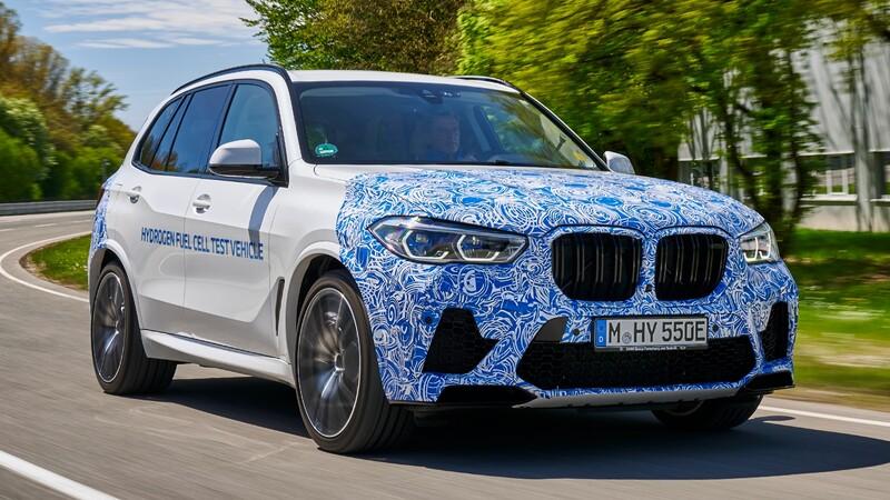 BMW también tendrá una gama de autos movidos con hidrógeno