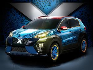 Kia Sportage Mystique, el auto de los X-Men