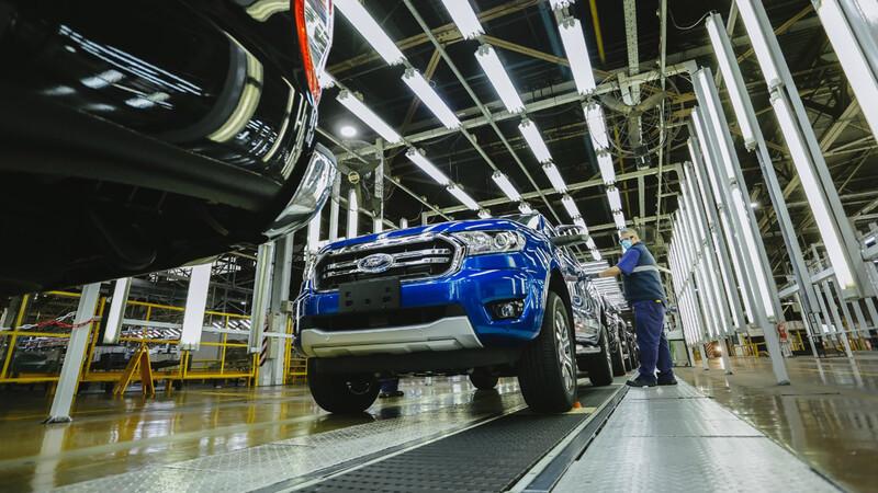 Ford Argentina aumenta la producción de la Ranger
