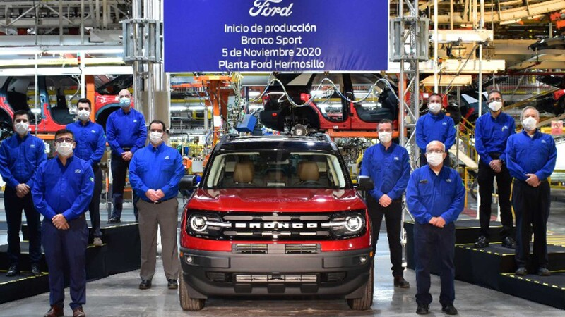 Ford inicia la producción del Bronco Sport en México