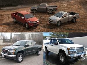 Chevrolet Colorado y GMC Canyon a revisión