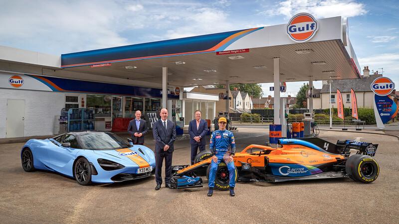 McLaren y Gulf vuelven a trabajar juntos