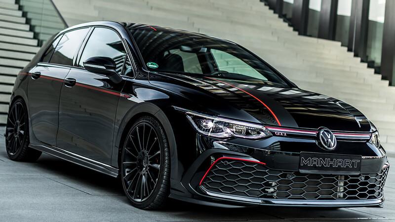 Volkswagen Golf GTI MKVIII by Manhart: Se potencia el hot hatch