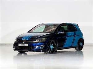 Volskwagen Golf GTI First Decade, un concept picante y azul