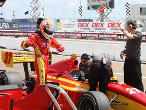 Sebastián Saavedra, listo para brillar en la novena válida de la Indy Lights