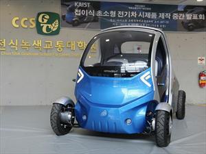 Armadillo T, el auto-bicho eléctrico plegable