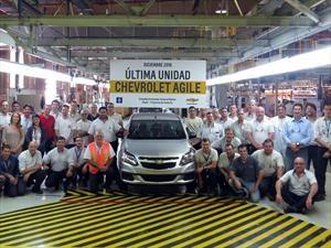 Con poca gloria, el Chevrolet Agile dice adiós