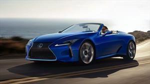 Lexus LC 500 Convertible, el deportivo japonés se destapa