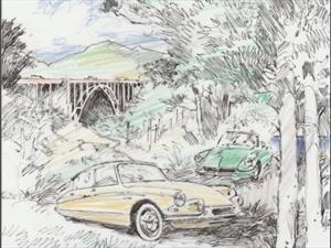 Citroën arriba a Pebble Beach por primera vez en su historia