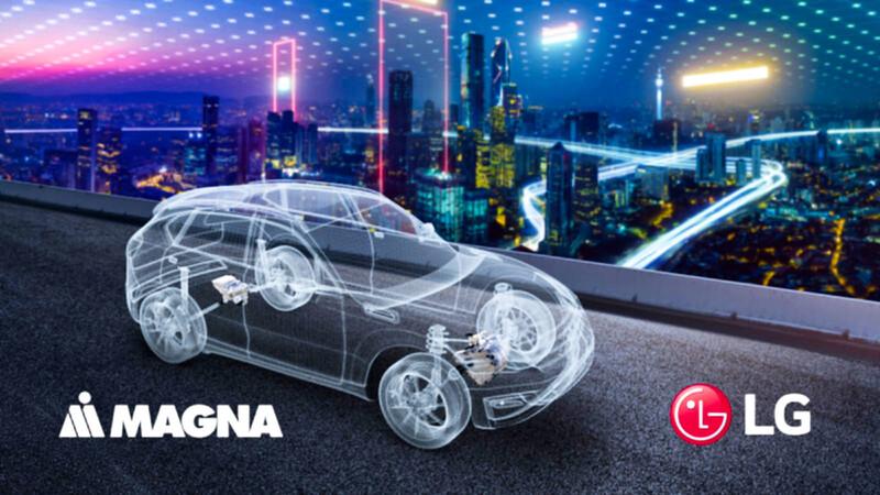 """LG y Magna se unen para producir """"ejes eléctricos"""""""